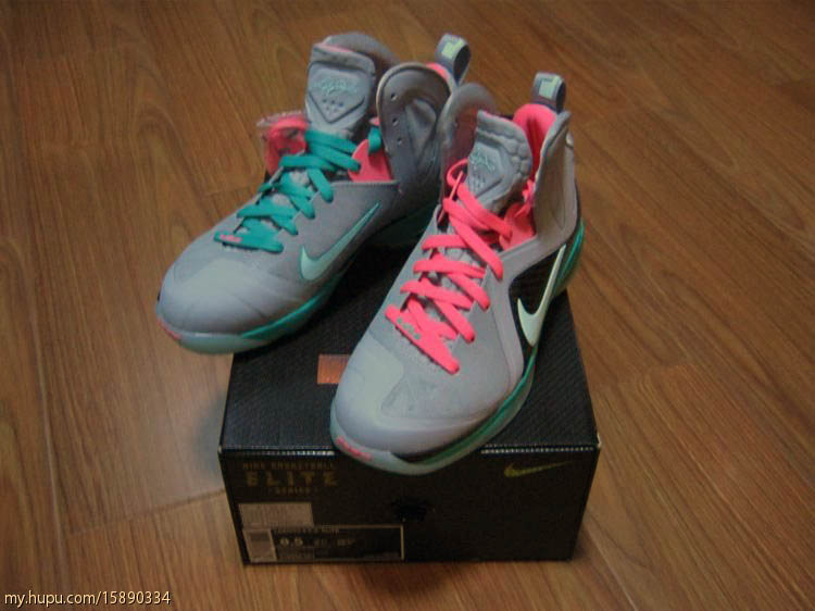 Nike LeBron 9 P.S. Elite South Beach 516958-001 (2)