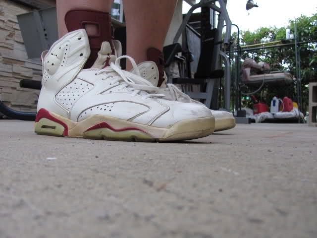 Spotlight // Forum Staff Weekly WDYWT? - 8.10.13 - Air Jordan VI Maroon by RICK JAMES