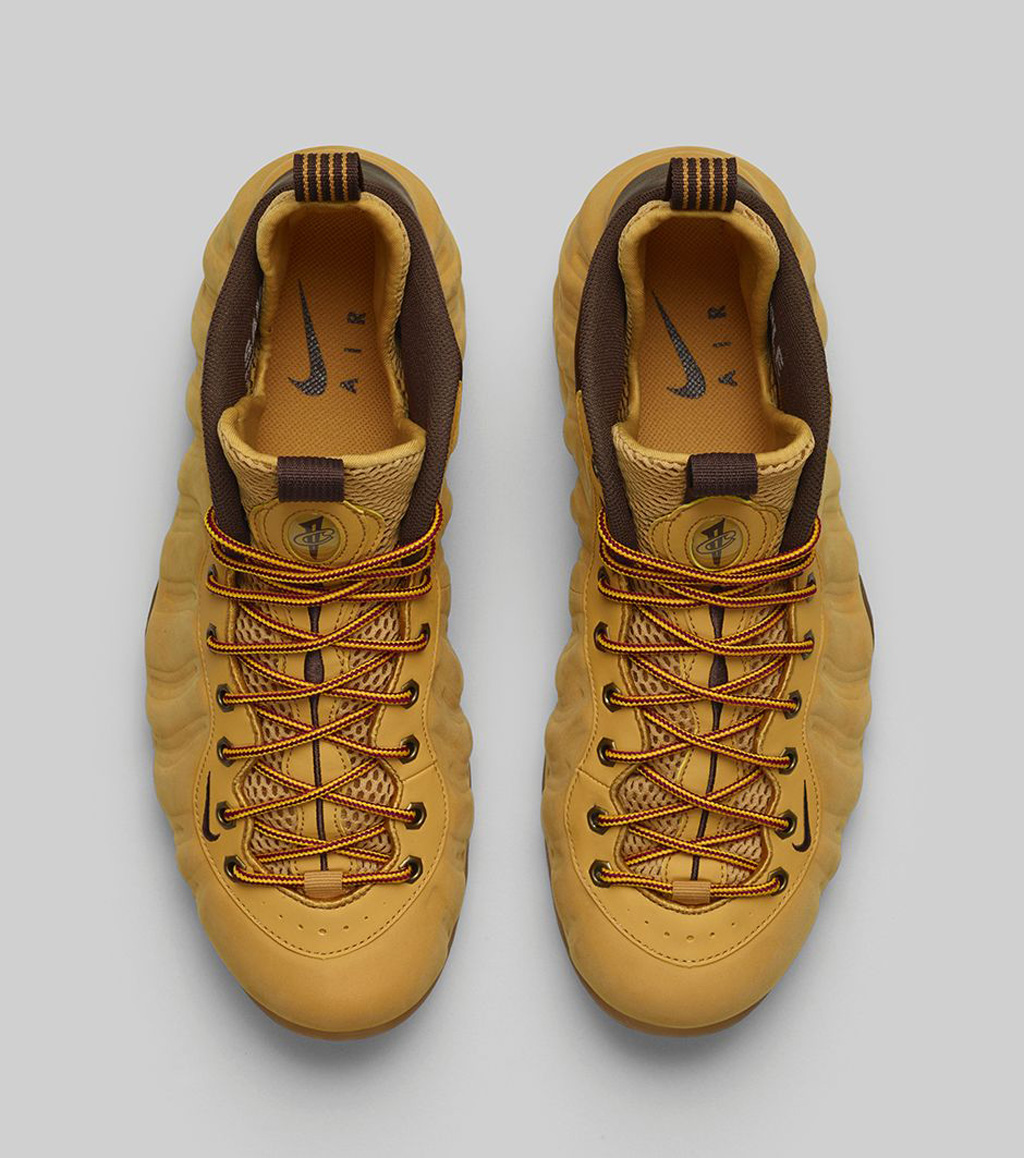 reputable site 33551 6973c The  Wheat  Nike Air Foamposite One Premium hits nike.com as well as select  Nike Sportswear retailers on Saturday, October 18.