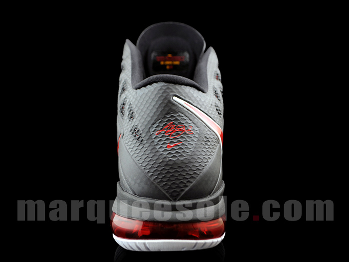 Nike Air Max LeBron 8 PS Black Red White