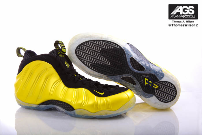 Nike Air Foamposite One Shoes Electrolime Golden State 314996-330 (4)