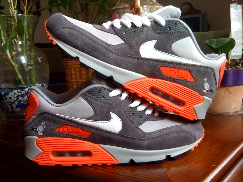 Nike Air Max 90 Pigeon by oROSOo