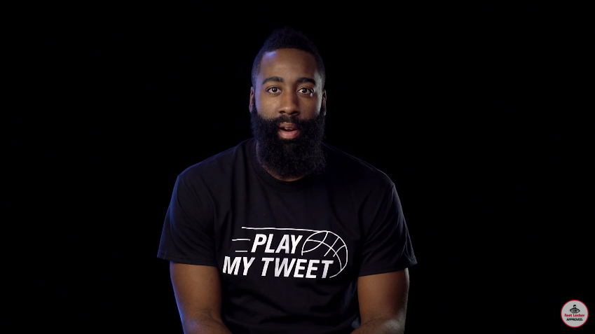 fe2c862d537e You Can Make James Harden Do Anything You Want By Tweeting at Foot Locker.