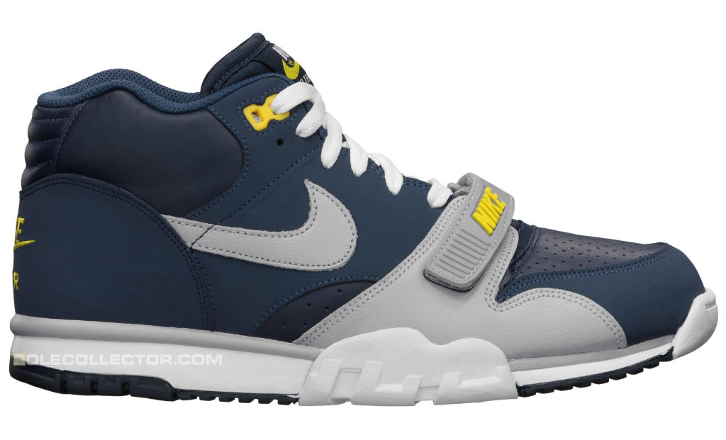 Nike Air Trainer 1 Midnight Navy Wolf Grey Obsidian Tour Yellow 317553-400 (1)