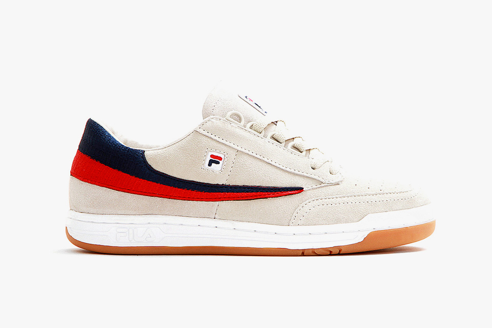 Cncpts x FILA Original Tennis in Cream suede