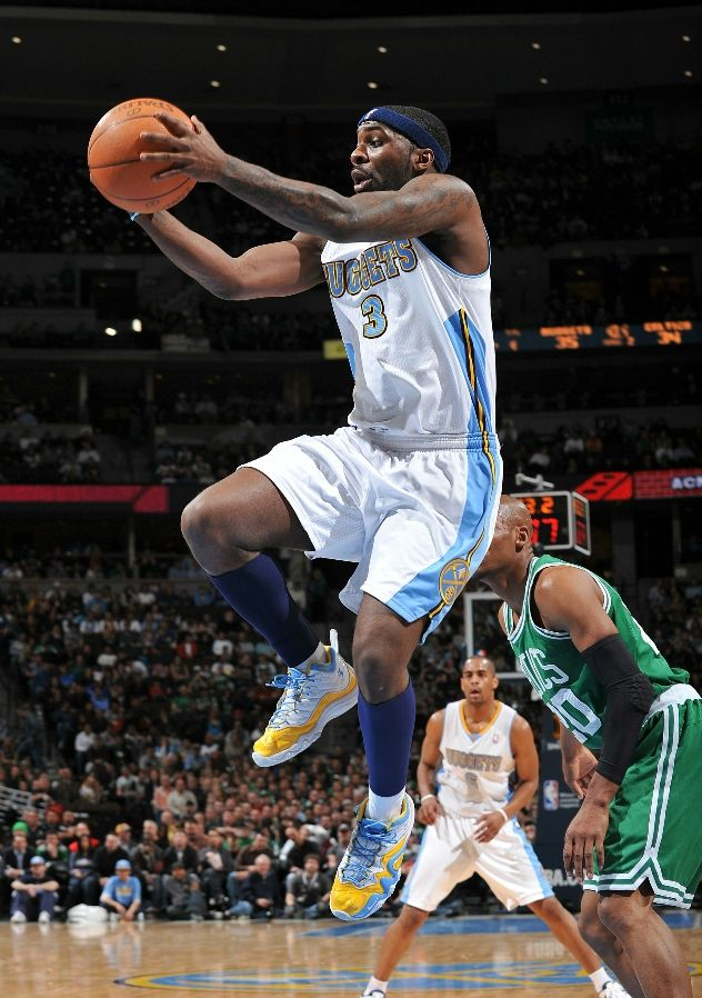 Ty Lawson wearing the Nike Air Zoom Flight Five iD