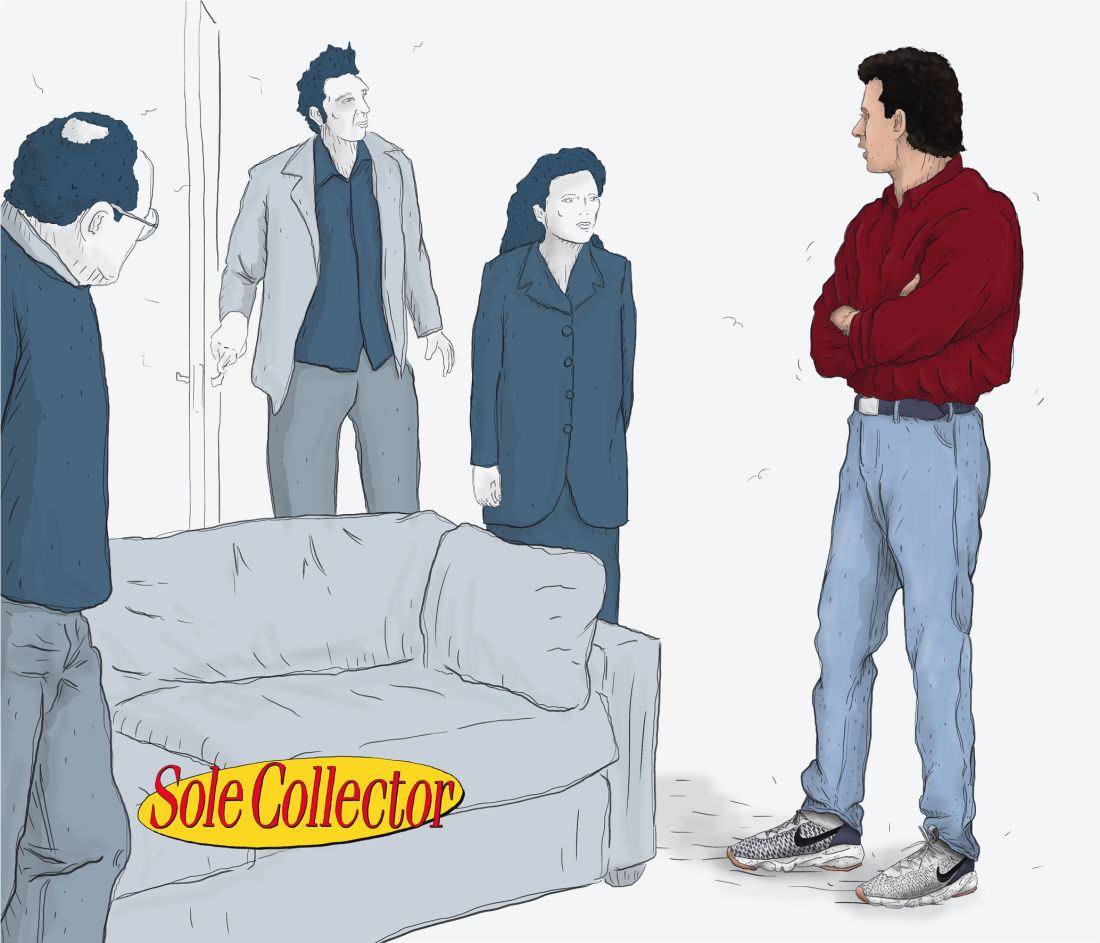 What Seinfeld Would Look Like With Modern Day Sneakers