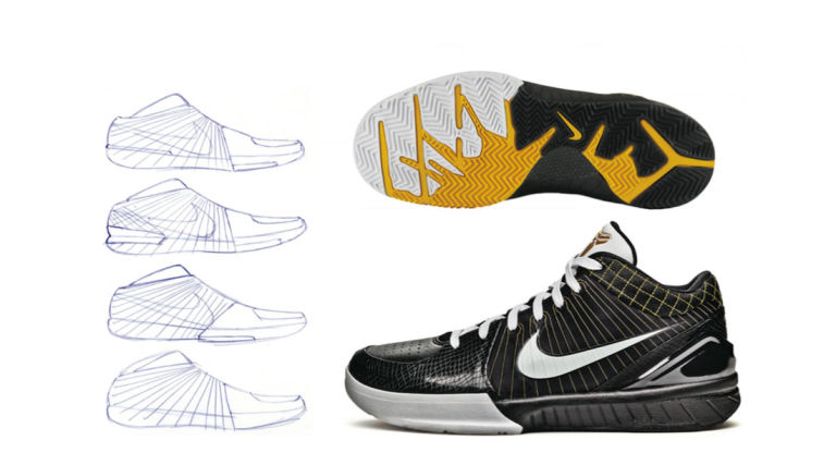 a53bdb10ee0 Seen in  Zoom Kobe 4. Low-top basketball sneakers ...