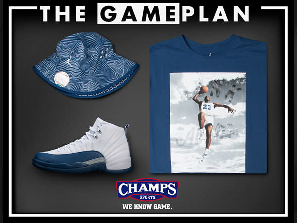 The Game Plan by Champs Sports Presents the Jordan French Blue Collection
