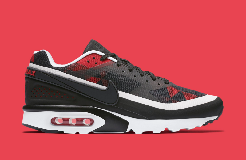 online retailer a0b79 54059 Nike Air Max BW Ultra Graphic Black University Red White | Sole ...