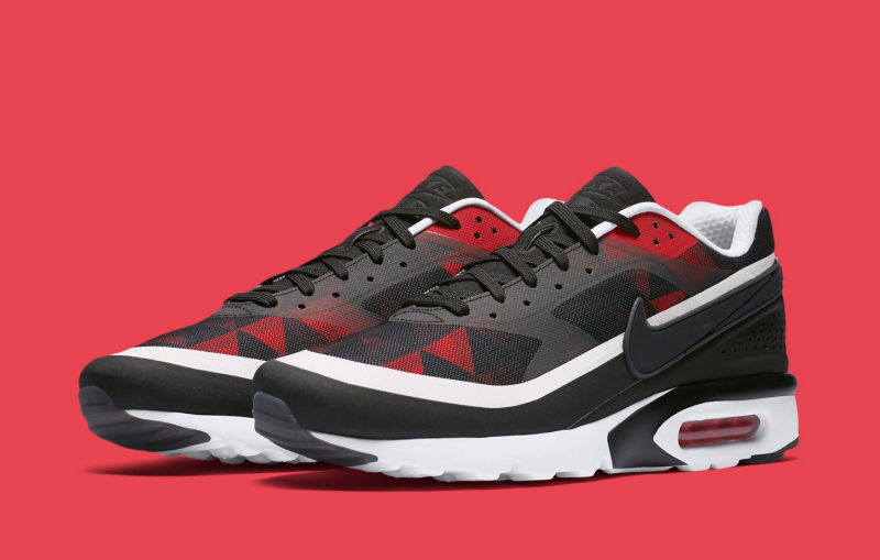 really comfortable official photos top quality Nike Air Max BW Ultra Graphic Black University Red White ...