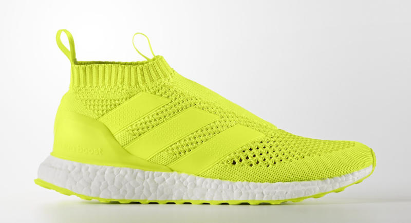 1fb0d14a6c5060 The adidas Ace 16+ PureControl Ultra Boost has popped up in black and solar  yellow colorways on adidas  international websites