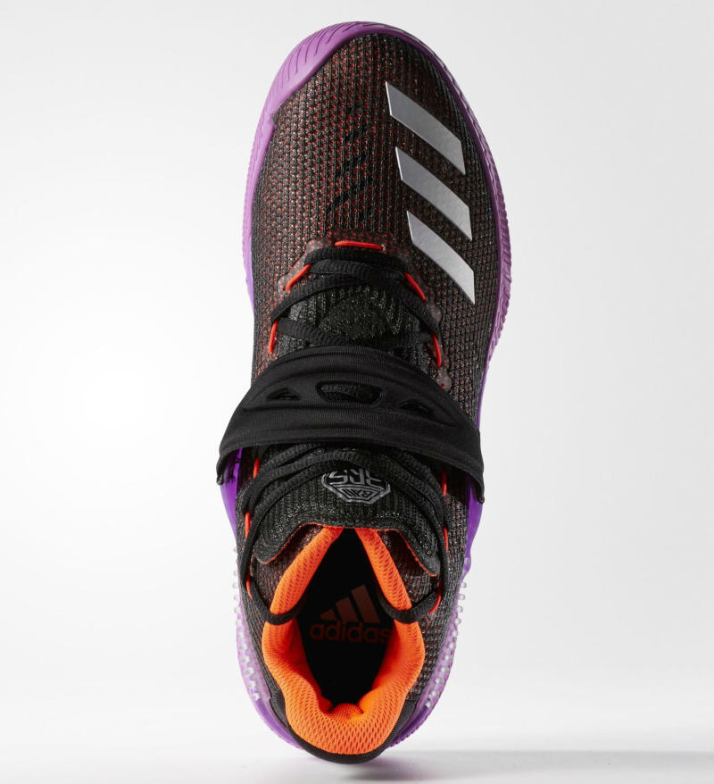 adidas Ball 365 Black/Metallic Silver-Shock Purple (2)