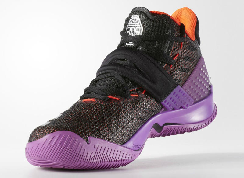 adidas Ball 365 Black/Metallic Silver-Shock Purple (4)