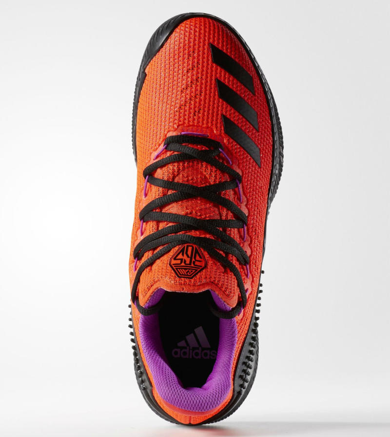 adidas Ball 365 Low Solar Red/Black-Shock Purple (2)