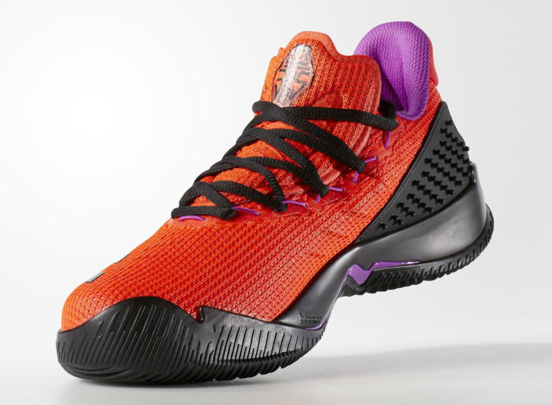 adidas Ball 365 Low Solar Red/Black-Shock Purple (4)