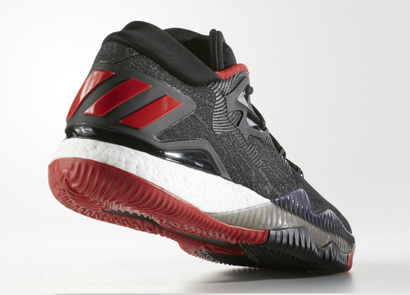 adidas Crazylight Boost 2016 Black Denim/Red (5)