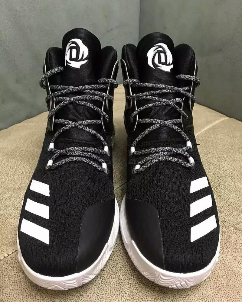 6ed933a3aa4 adidas D Rose 7 Black White (2)