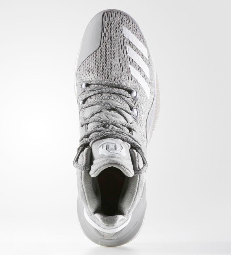 the latest 6a5b6 4dfd4 adidas D Rose 7 Grey White B54134 (2)