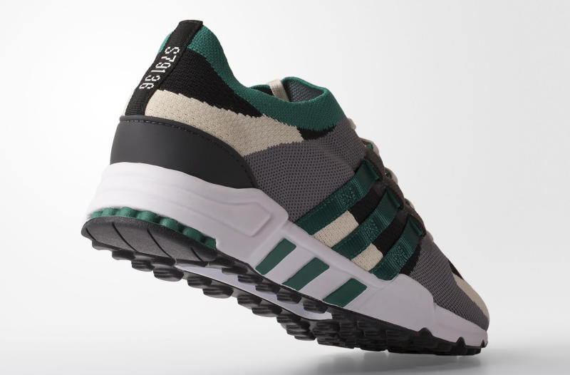 The adidas EQT Running Support Racing Green Comes With