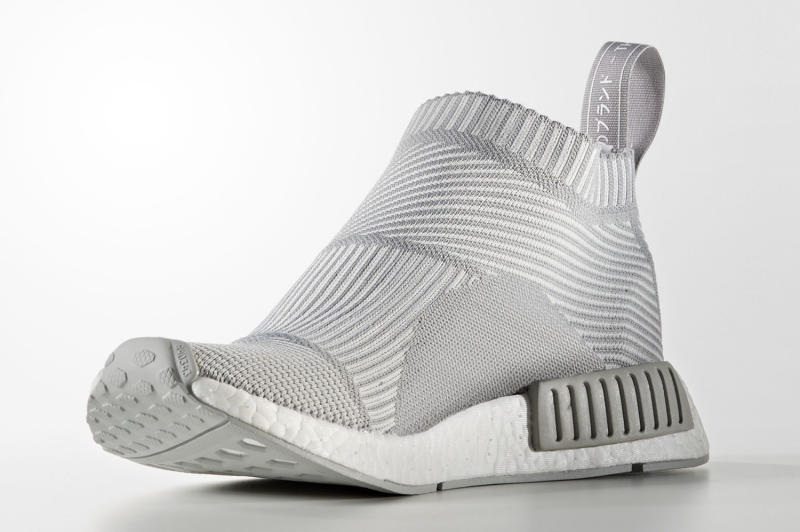 yhtpzu adidas NMD City Sock Grey White | Sole Collector