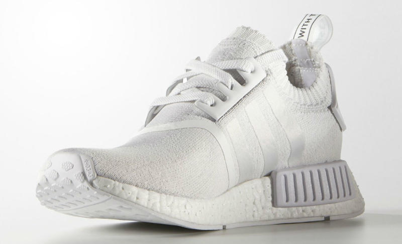 hot sale The adidas NMD R1 Primeknit Dons A Solid Grey Upper