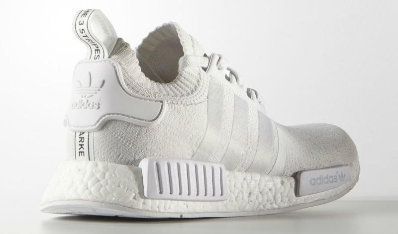 "adidas NMD R1 Primeknit ""Triple Black and ""Triple White Release"