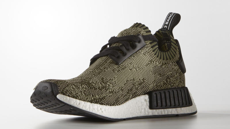 adidas nmd r1 dames olive