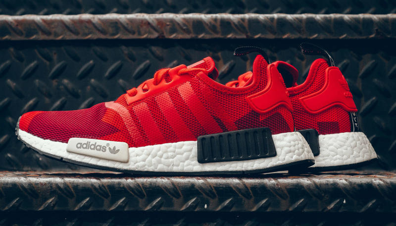 buy online 2234f d9f0c adidas NMD Red Camo   Sole Collector