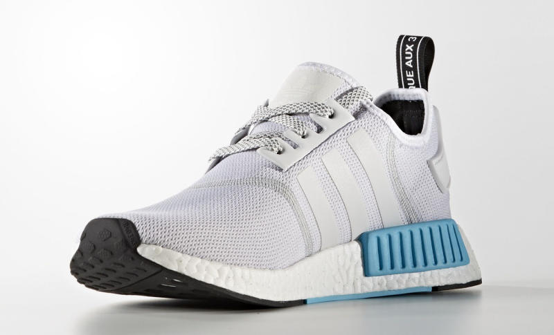 quality design 3b25c 0a415 Adidas NMD White Blue | Sole Collector
