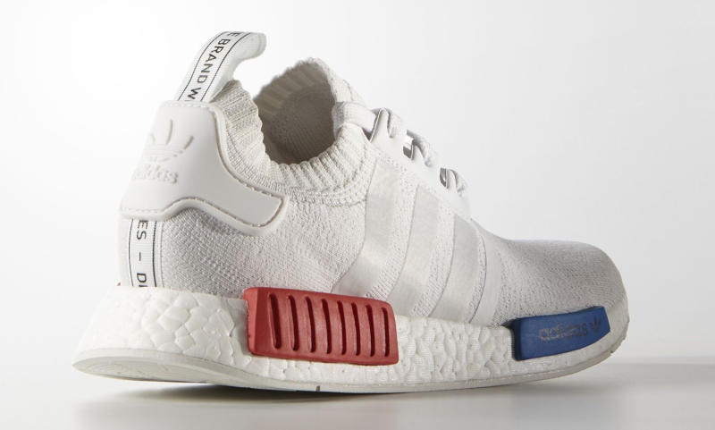 Adidas Nmd Red And Blue