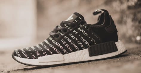 Adidas Nmd Blackout Whiteout Pack Sole Collector