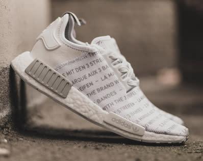 Adidas Nmd Whiteout