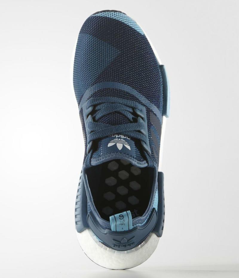 Adidas Nmd R1 Camo Blue