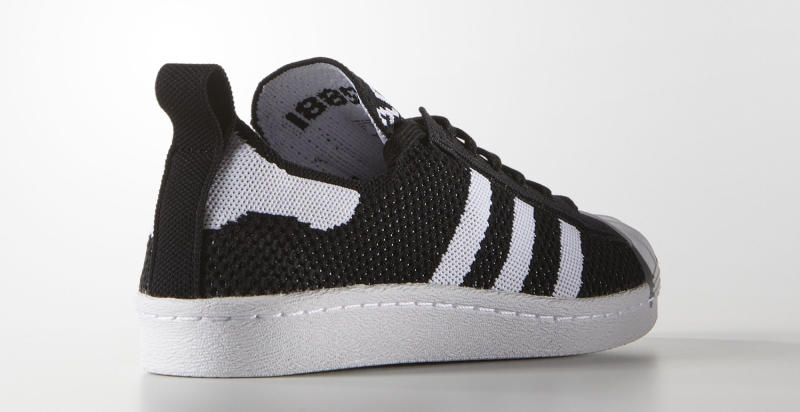 adidas superstar black primeknit