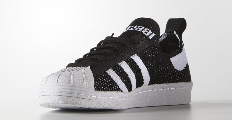 a183dd5c0d67 Adidas Superstar Primeknit Black Blue White