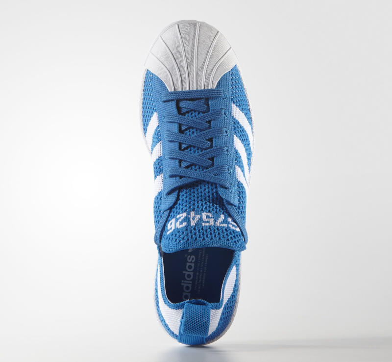 the best attitude 895f1 bb658 Adidas Superstar Primeknit Black Blue White   Sole Collector