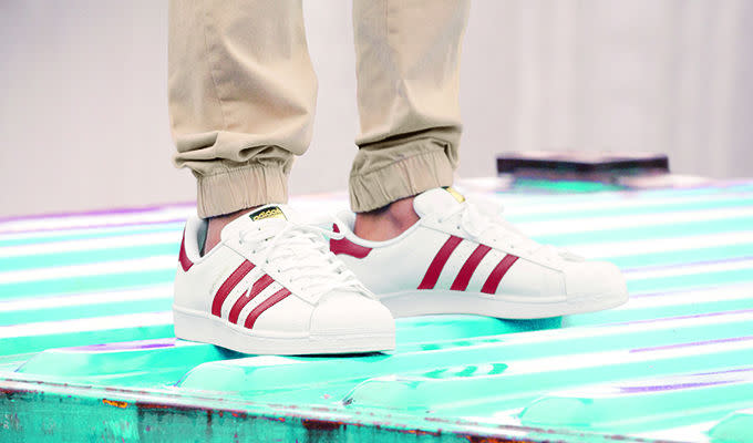 Adidas Superstar Bianco / Scarlet Unico Collettore