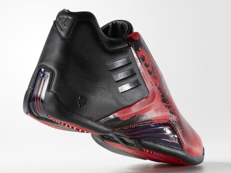 best service 326e5 d5605 adidas TMAC 3 Black Red Splatter (5)