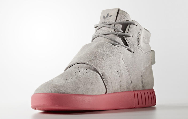 Adidas Tubular Invader Strap Shoes Men 's Red