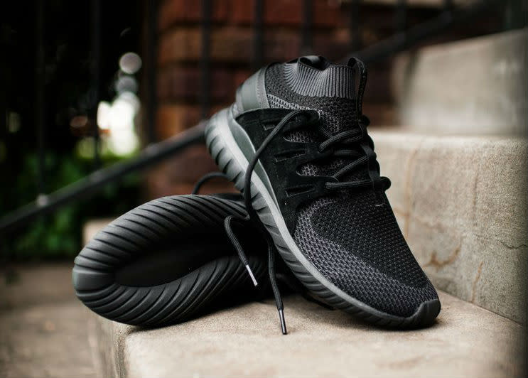 The Really Sleek adidas Tubular Doom Core Black