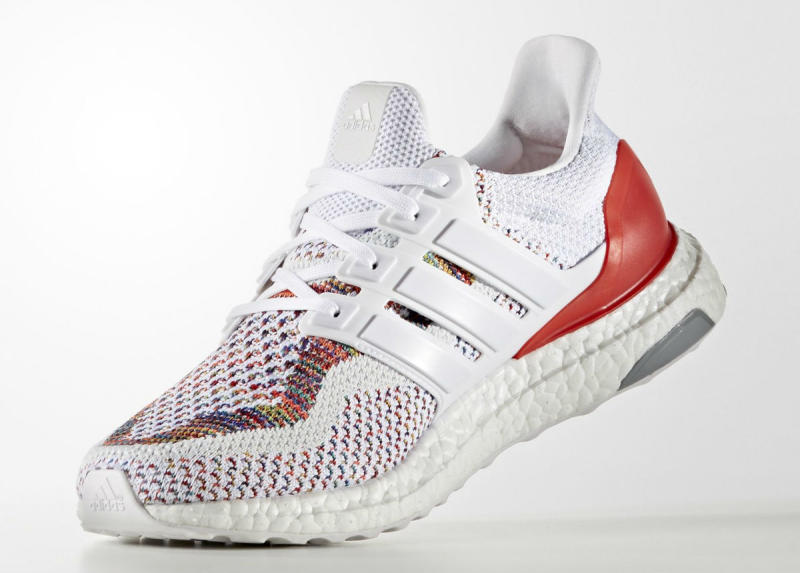 Adidas Ultra Boost White And Red