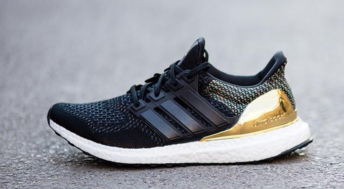 Adidas Ultra Boost Black Gold