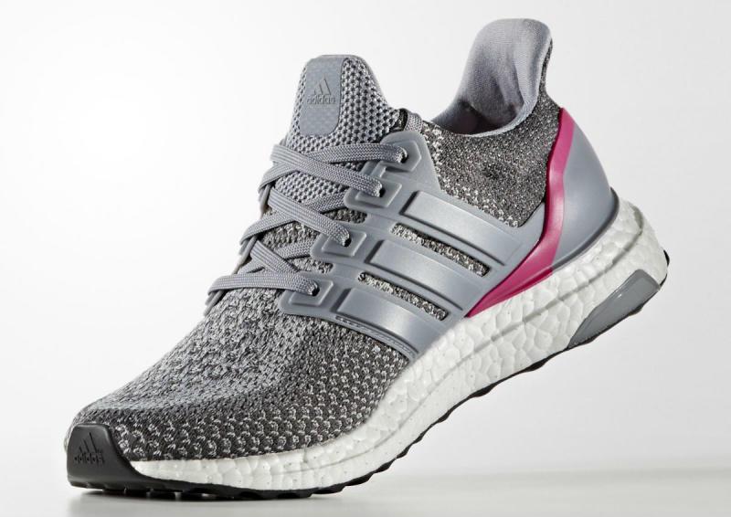 32ab1df5c adidas Ultra Boost Grey Shock Pink (4)