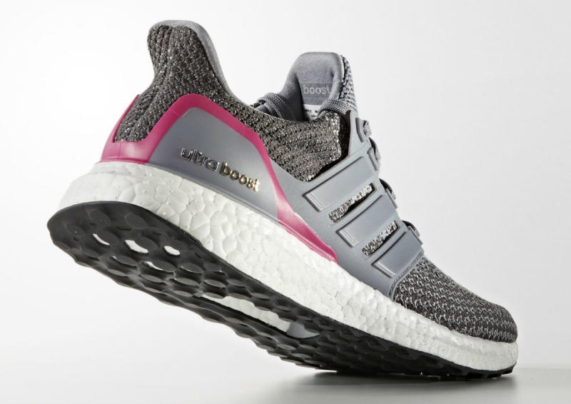 Adidas Ultra Boost Grey And Pink