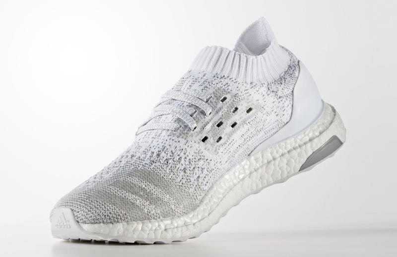 mens adidas ultra boost triple white cleat adidas ultra boost uncaged white reflective