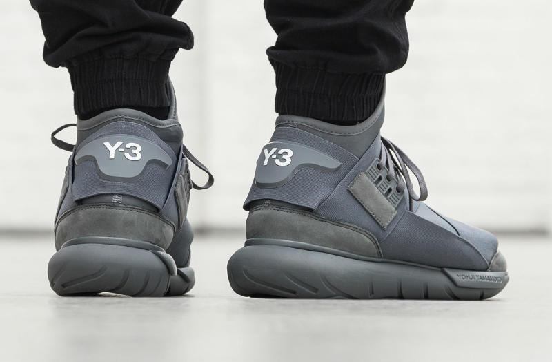 adidas Y3 Qasa High Vista Grey (2) a5bee99407