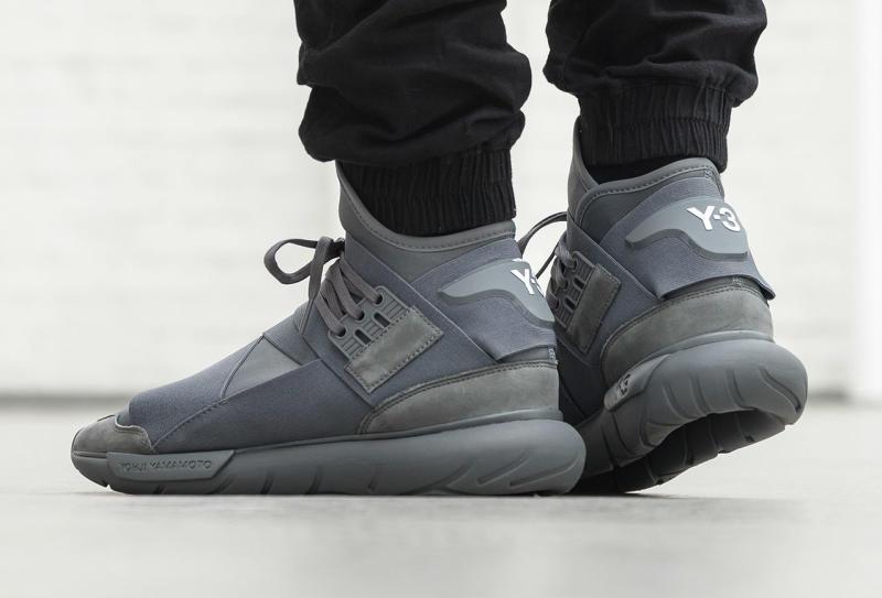 adidas y3 qasa high vista grey sole collector. Black Bedroom Furniture Sets. Home Design Ideas