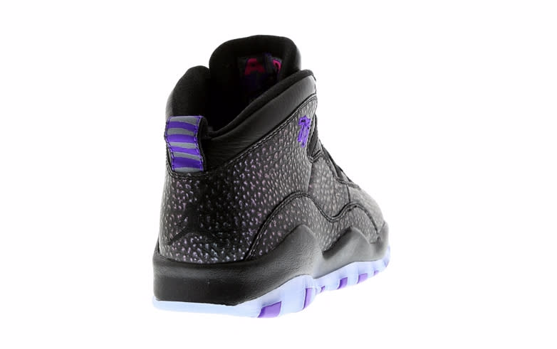 check out 1af90 5359d Air Jordan 10 Black Purple | Sole Collector