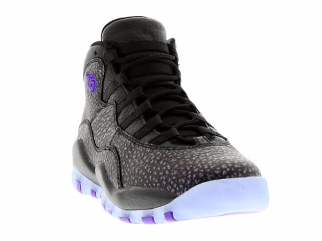 check out ffb96 81516 Air Jordan 10 Black Purple | Sole Collector